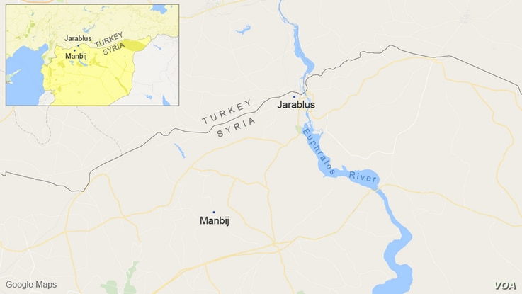 Jarablus and Manbij, Syria