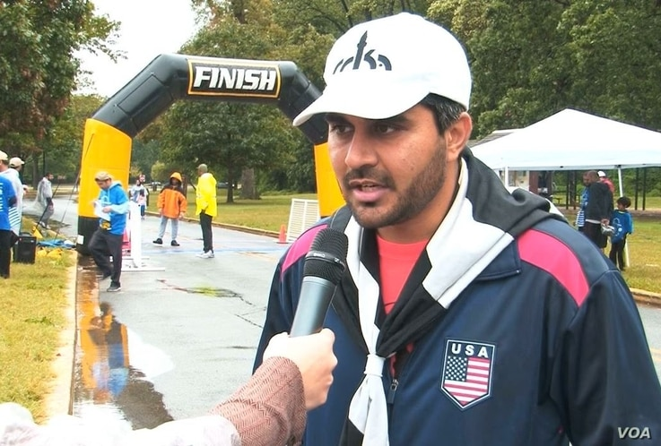 Haris Raja, national director for the event known as Walk for Humanity USA.