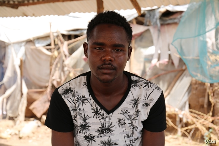 Abdulaziz Yassir Yahya, a 24 year-old Sudanese refugee from Darfur, living in Kakuma refugee camp. Yahya was scheduled to fly from Kakuma to Nairobi on January 30, for processing for his resettlement in Tucson, Arizona, but the U.S. travel ban preven...