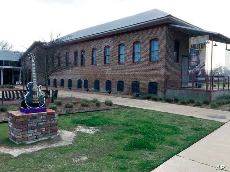 The B.B. King Museum and Delta Interpretive Center is pictured in Indianola, Miss., March 9, 2017. The museum focuses on King's life and musical legacy.