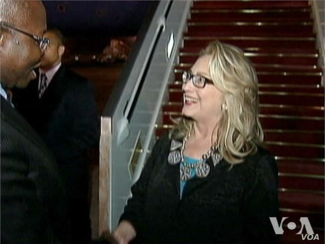 Related video of US Secretary of State Hillary Clinton