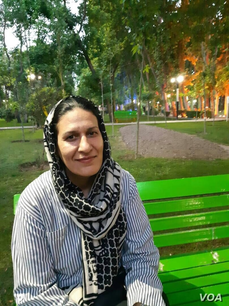 Undated photo of Sedigheh Khalili, whose daughter Sepideh Moradi has been detained with nine other minority dervish women at Iran's Qarchak prison since February.