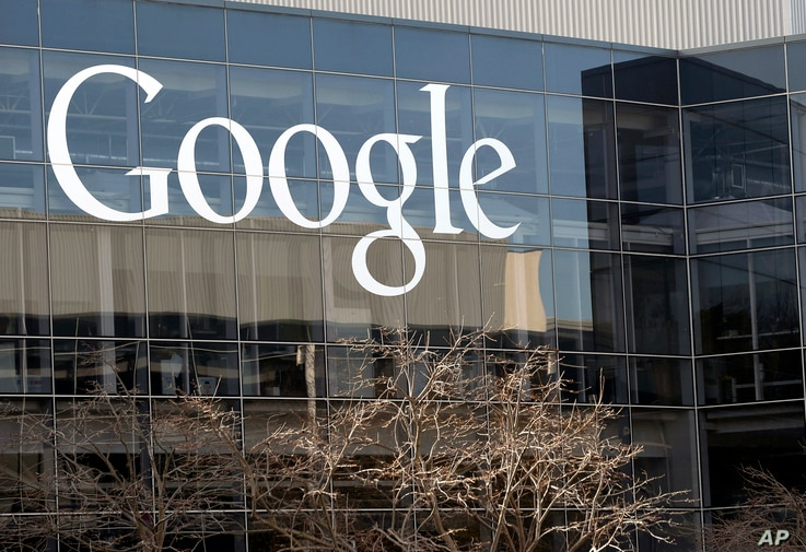 FILE - Alphabet Most Valuable Company:  Google's headquarters in Mountain View, California.