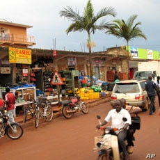 Once ravaged by war, Gulu in northern Uganda is now a bustling commercial town, April 20, 2012.
