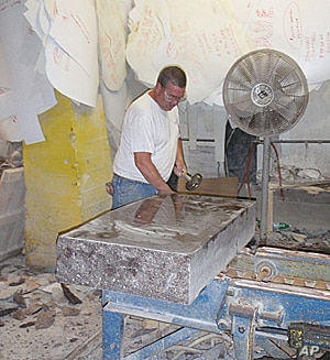 The turn away from traditional funerals is taking a financial toll on the US granite and marble industry.