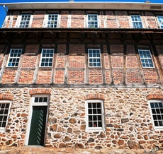 The Single Brothers' House was the Moravians' dormitory for young, unmarried men.