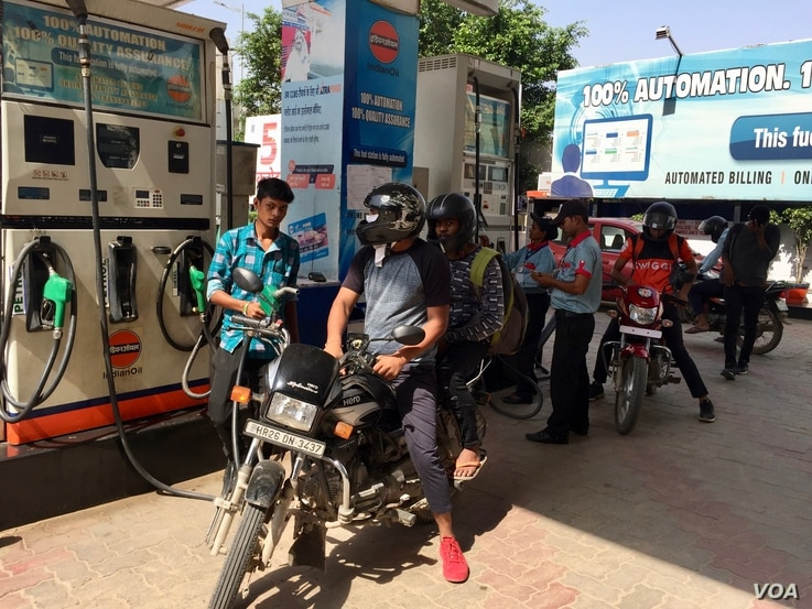 Discontent with spiraling fuel prices poses a challenge to Prime Minister Modi's Bharatiya Janata Party ahead of general elections next year.
