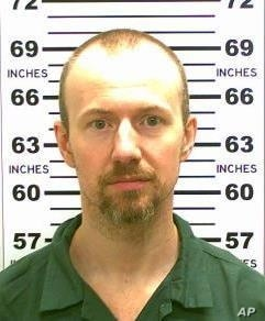 This May 21, 2015, photo released by the New York State Police shows inmate David Sweat, 34.