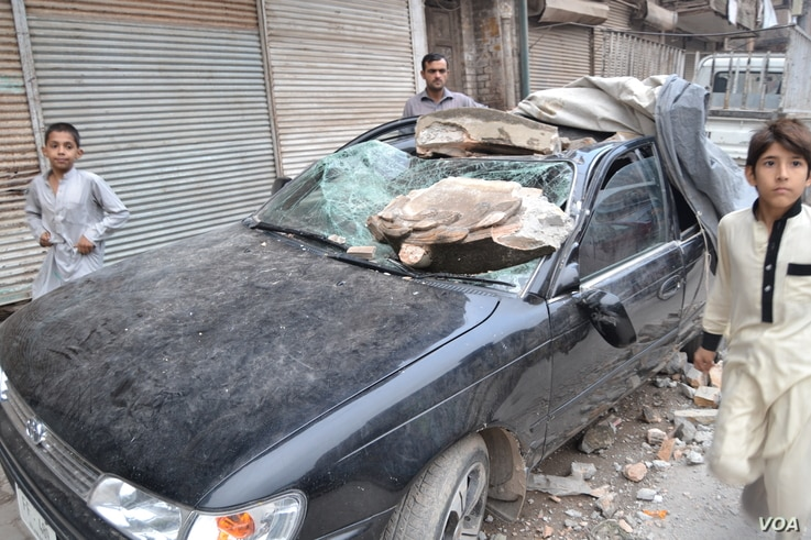 major earthquake struck northern Afghanistan Monday, killing scores of people there as well as in neighboring Pakistan.