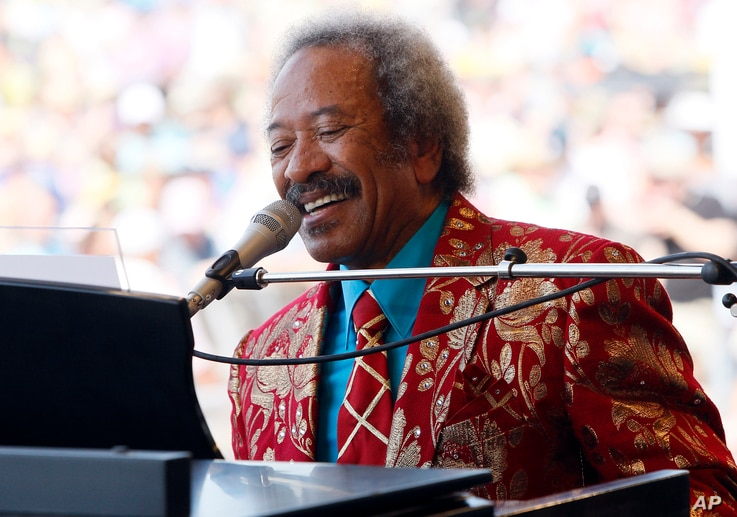 Allen Toussaint performs at the New Orleans Jazz and Heritage Festival in New Orleans, Louisiana, May 7, 2011.