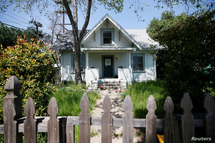 A house at 1010 Hope St. is pictured in South Pasadena, California, April 5, 2017.