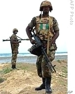 African Union peacekeeper in Somalia