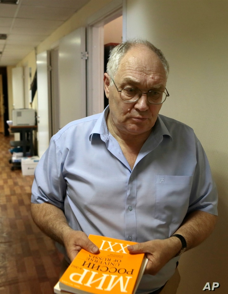 Lev Gudkov runs the Levada Center, Russia's only independent polling agency, in Moscow, Russia, May 20, 2013.