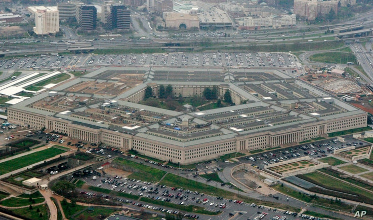 FILE - The Pentagon building is seen in Washington.