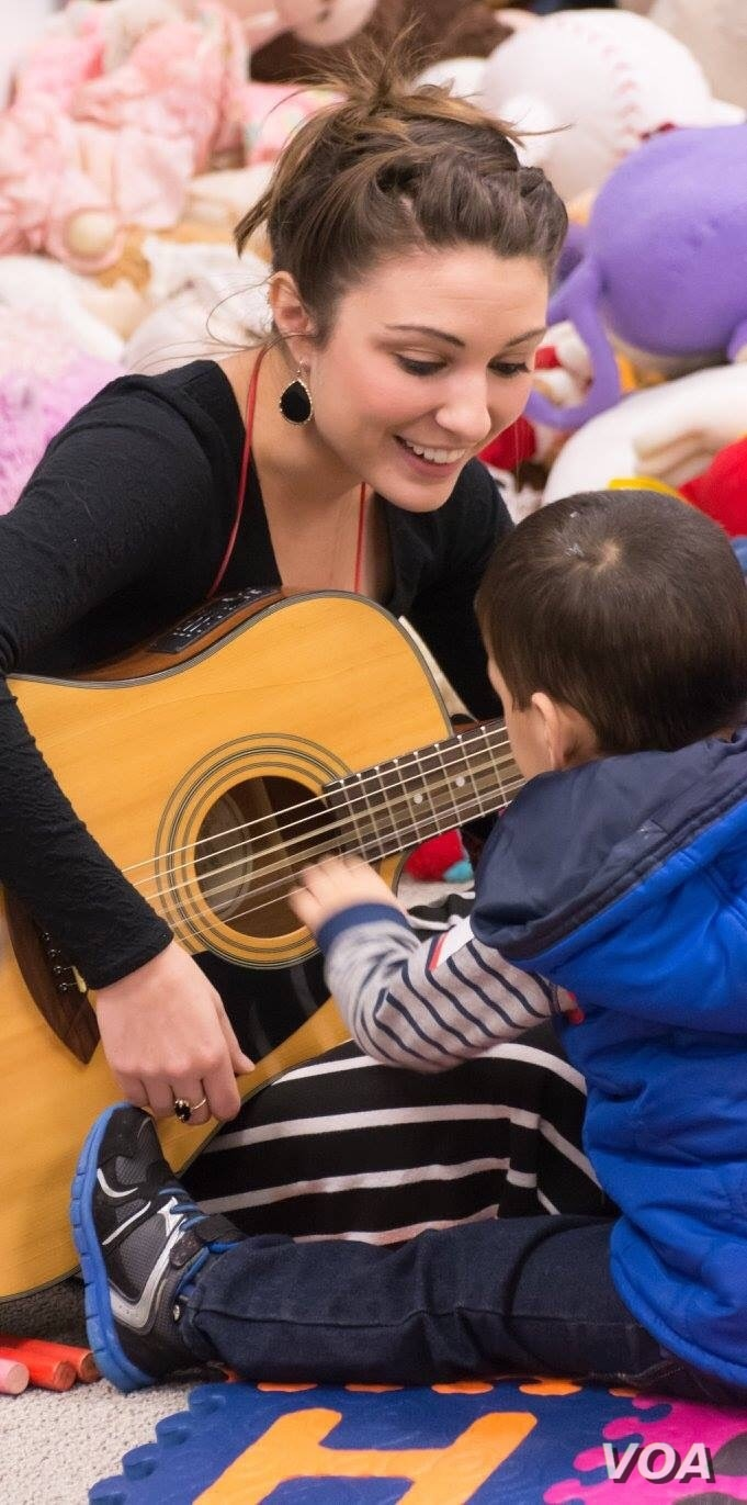 Kelsi Yingling, NeuroSound Music Therapy founder, says a music therapist should have passion for music and helping others. (NeuroSound Music Therapy)