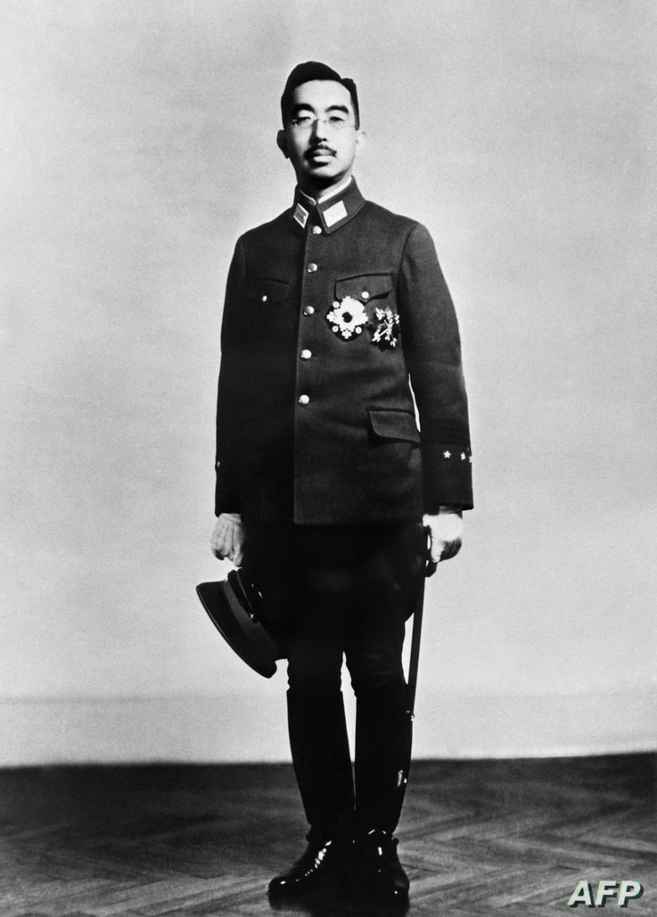 Photo taken in November 1943 shows the 124th Emperor of Japan Showa, better known outside of Japan by his personal name Hirohito, wearing his military uniform of Supreme Commander of Japan Imperial Force.