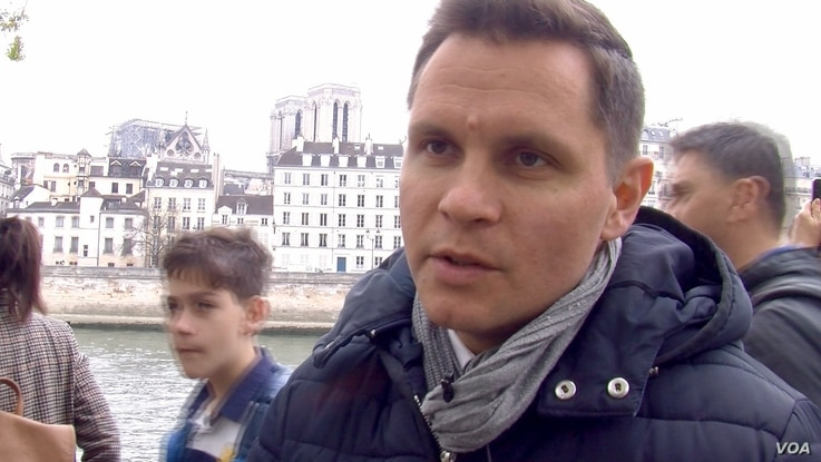 Nicolas Chouin believes Notre Dame's fire may help heal a fractured France.