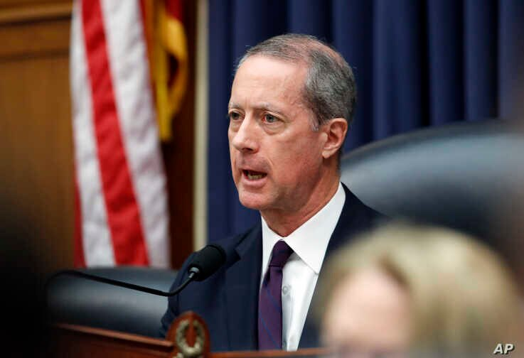 FILE - House Armed Services Committee Chairman Mac Thornberry, R-Texas, speaks during a hearing on Capitol Hill, April 12, 2018.