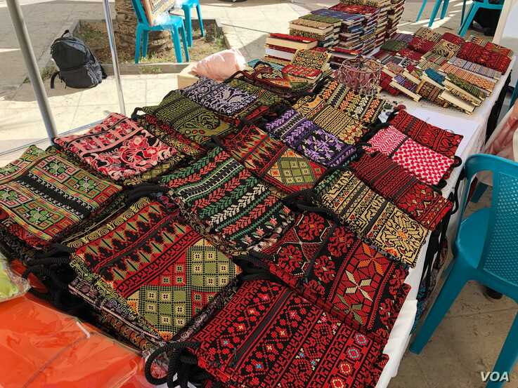 items for sale at world refugee day bazaar