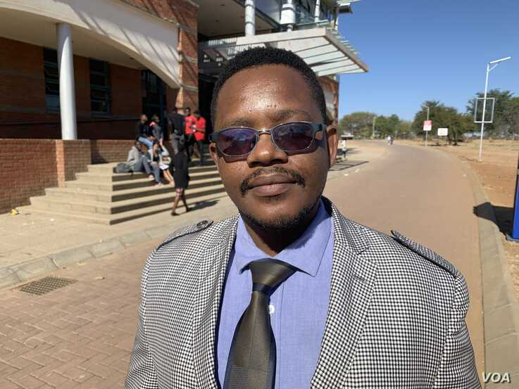 Stevenson Okuhle Dhlamini an economist and a senior lecturer at the National University of Science and Technology in Bulawayo.