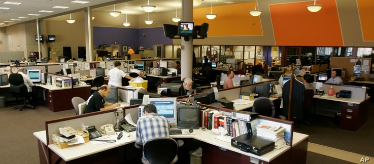 FILE - A view of the Office of Cuba Broadcasting, which oversees Radio and TV Marti, in Miami, June 22, 2007.