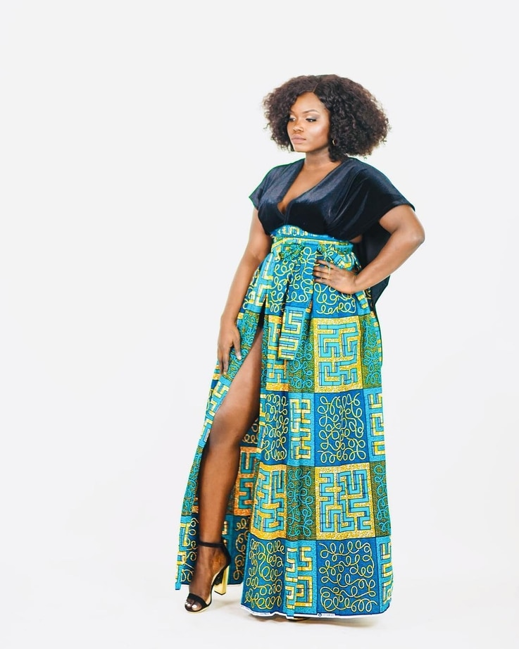 "Sara Duku, who said she once merely ""dabbled"" in sewing,  created this design."