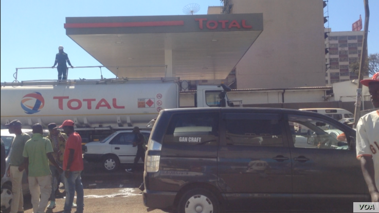 Fuel prices on July 23, 2019 in Harare, Zimbabwe have increased several times but the liquid remains in short supply just like most essentials like electricity.