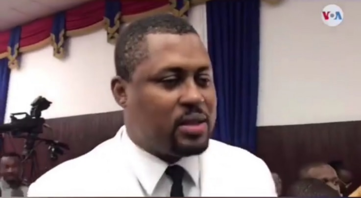 Deputy Gary Bodeau,  President of the Chamber of Deputies speaks to VOA Creole.