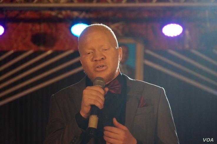 Mr Albinism Malawi Burnet Phunyanya says he will focus his attention towards motivating fellow people with albinism to realize their potential