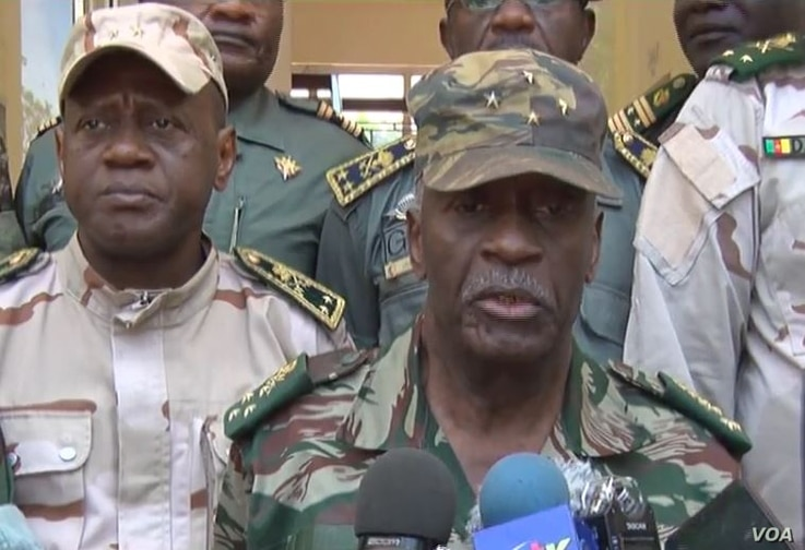 General Rene Claude Meka, Cameroon's chief of defense staff, Sept. 12, 2019. (M. Kindzeka/VOA)