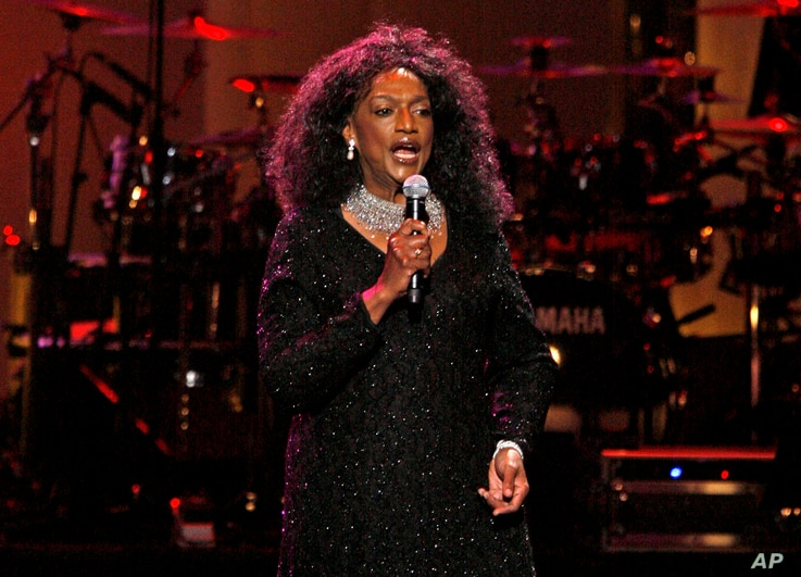 FILE - Soprano Jessye Norman performs during The Dream Concert at Radio City Music Hall in New York, Sept. 18, 2007.