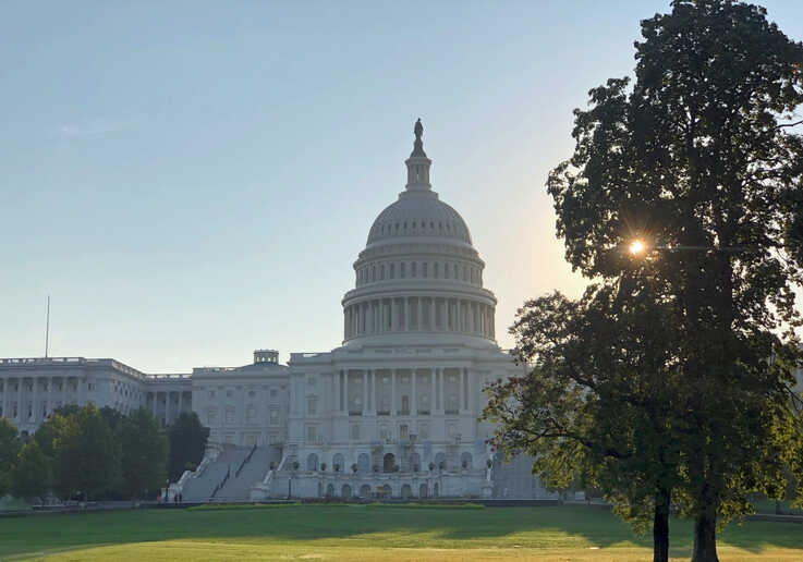 The Capitol Hill building is pictured in Washington, DC, Sept. 12, 2019. (Photo: Diaa Bekheet)