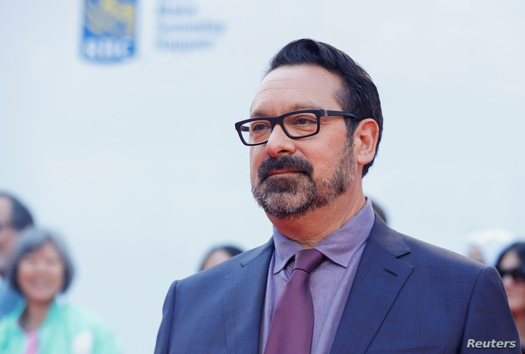 """Director James Mangold poses as he arrives at the international premiere of """"Ford V Ferrari"""" at the Toronto International Film Festival (TIFF) in Toronto, Ontario, Canada, Sept. 9, 2019."""