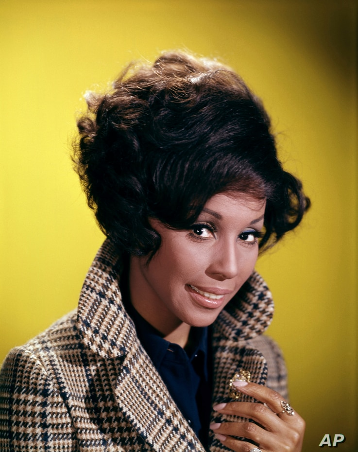 FILE - This 1972 file image shows singer and actress Diahann Carroll. Carroll passed away Friday, Oct. 4, 2019  at her home in…