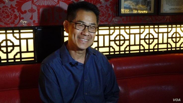 "Filmmaker, curator and author Arthur Dong wrote the book, ""Hollywood Chinese: The Chinese in American Feature Films."" (E. Lee/VO"