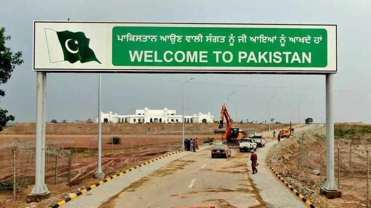 Pakistan has constructed a new road and bridge that leads straight to the Kartapur Gurdwara temple.