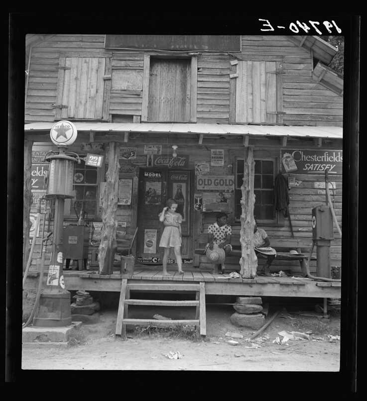 A country store in Person County, North Carolina, 1939.