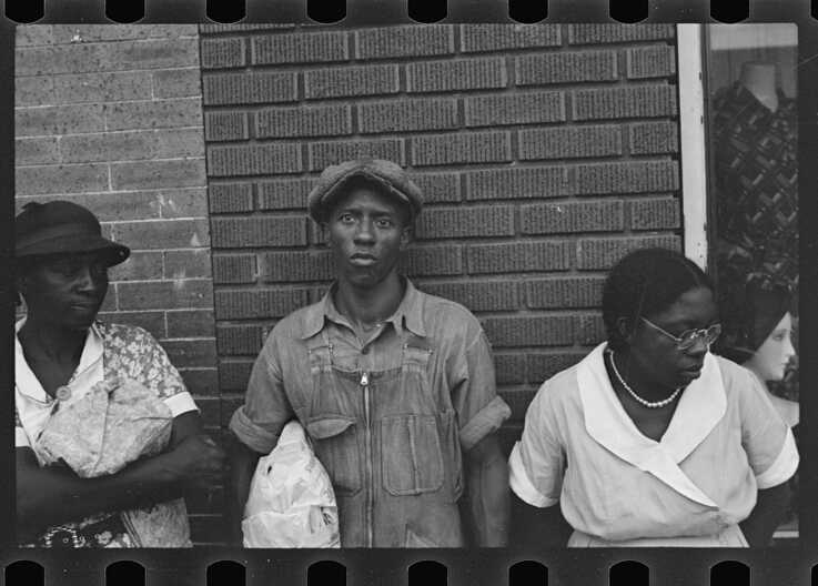 Sharecroppers in Marked Tree, Arkansas