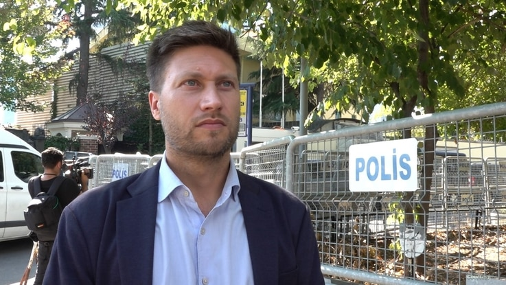 Andrew Gardener, Turkey researcher for Amnesty International, says international leaders are failing to hold to account Saudi Ar