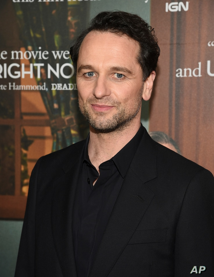 """Actor Matthew Rhys attends a special screening of """"A Beautiful Day In The Neighborhood,"""" at the Henry R. Luce Auditorium,…"""