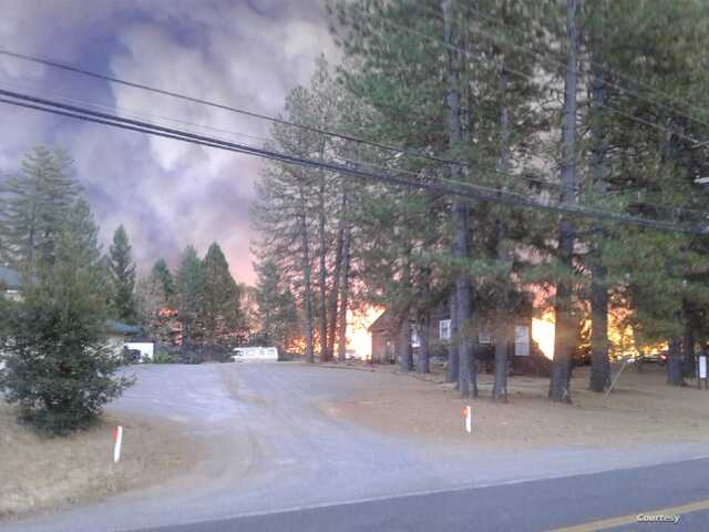 The Camp Fire surrounded Magalia Community Church, but four men kept the flames at bay by throwing dirt on the fire, and even be