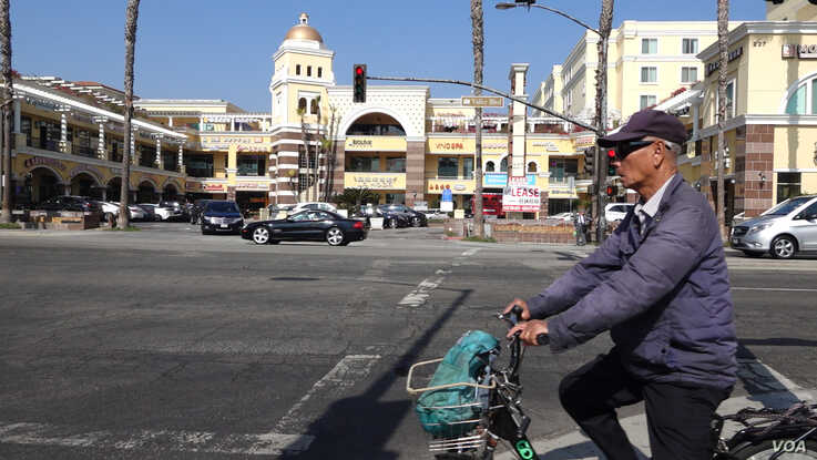 Nearly half a million Asians live in California's San Gabriel Valley, where nine cities are majority Asian.