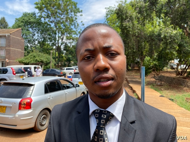 Tawanda Zvakada, from the Zimbabwe Hospital Doctors Association says, Nov. 22, 2019, he hoped President Emmerson Mnangagwa's government would swiftly act now that senior doctors had joined the strike.