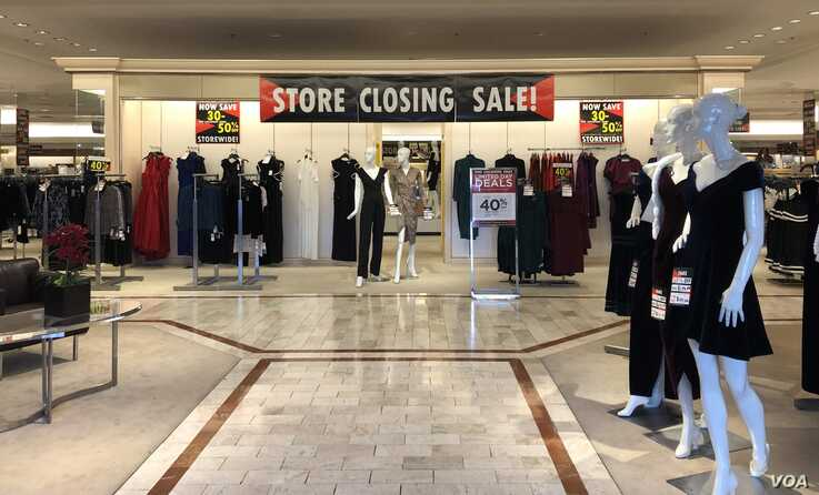 One of more than 9,000 retail stores marked for closure in 2019.