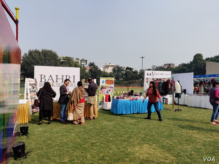 The Indian capital hosted its first queer literature festival nearly a year and a half after a law banning homosexuality was scrapped in the country. (Anjana Pasricha/VOA)