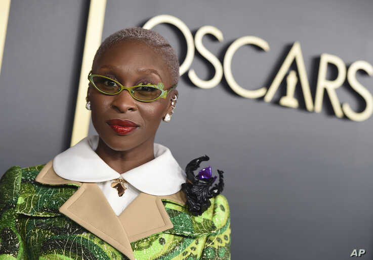 Cynthia Erivo arrives at the 92nd Academy Awards Nominees Luncheon at the Loews Hotel in Los Angeles