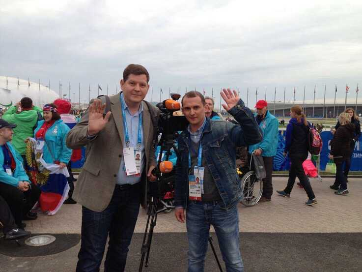 Nikolai Yarst, left, and Philip Vasilenko are seen in an undated photo in Sochi, Russia. (Source - Facebook page of Russian rights group Фонд Общественный вердикт)