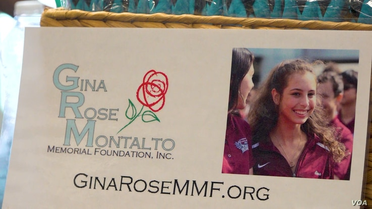 Gina Montalto was 14 when she was killed at her high school in Parkland, Fla., in 2018. (Esha Sarai/VOA)