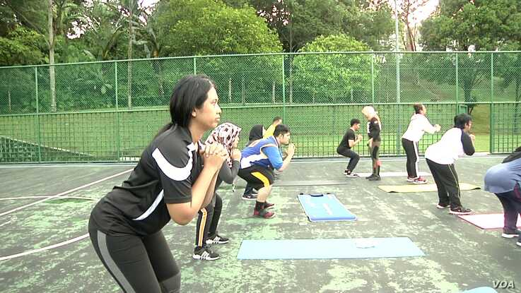 Every year thousands of Malaysians sign up for one of Jom Kurus' six-week fitness programs across the country.
