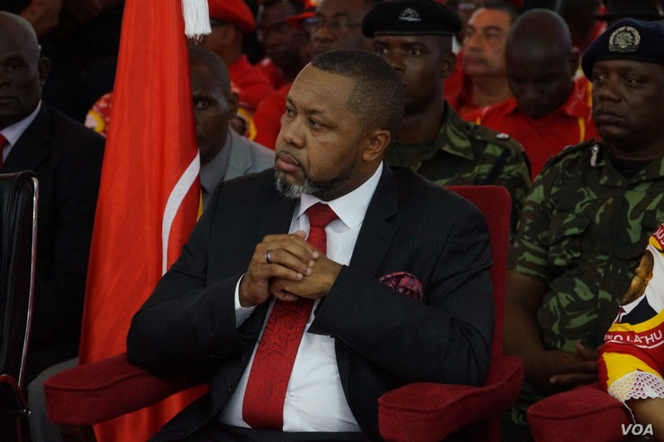 Saulos Chilima, leader of the opposition United Transformation Movement, is reinstated as vice president of Malawi after a court nullified the May presidential polls. (Lameck Masina/VOA)